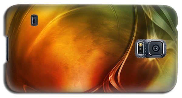 Abstract Whiskey Galaxy S5 Case by Johnny Hildingsson
