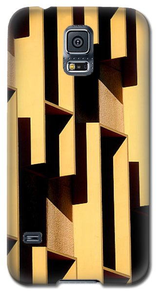 State Building Abstract Galaxy S5 Case