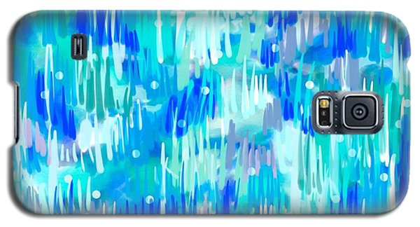 Abstract Winter Galaxy S5 Case