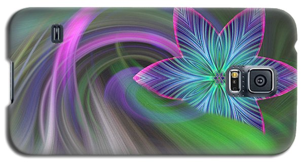 Abstract With Star Galaxy S5 Case by Linda Phelps