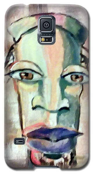 Galaxy S5 Case featuring the painting Abstract Young Man #2 by Raymond Doward