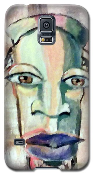 Abstract Young Man #2 Galaxy S5 Case by Raymond Doward