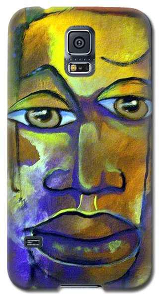 Galaxy S5 Case featuring the painting Abstract Young Man by Raymond Doward