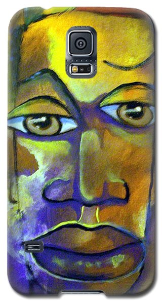 Abstract Young Man Galaxy S5 Case by Raymond Doward