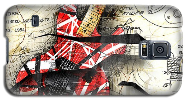 Abstracta 35 Eddie's Guitar Galaxy S5 Case by Gary Bodnar
