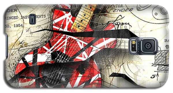 Van Halen Galaxy S5 Case - Abstracta 35 Eddie's Guitar by Gary Bodnar