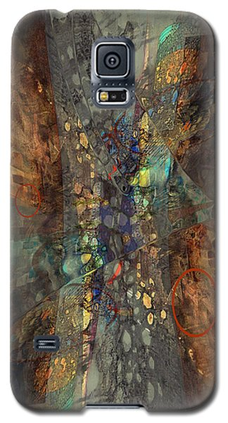 Abstracted Extrusion  Galaxy S5 Case