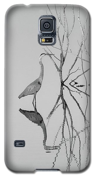 Galaxy S5 Case featuring the photograph Abstracts On The Lake by Carolyn Dalessandro