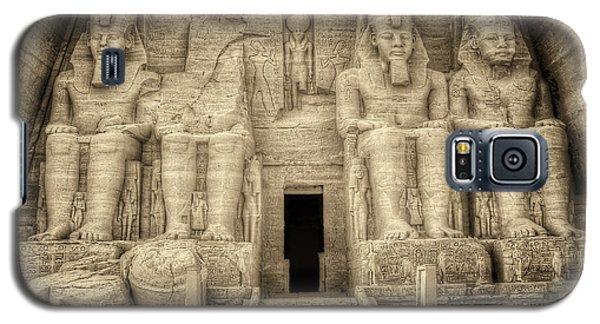 Abu Simbel Antiqued Galaxy S5 Case by Nigel Fletcher-Jones