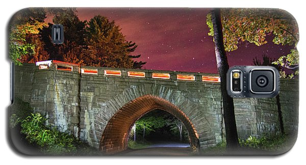 Acadia Carriage Bridge Under The Stars Galaxy S5 Case