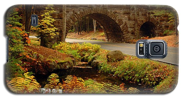 Galaxy S5 Case featuring the photograph Acadia Stone Bridge by Alana Ranney
