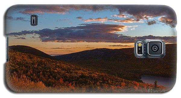 Acadia Sunset Galaxy S5 Case