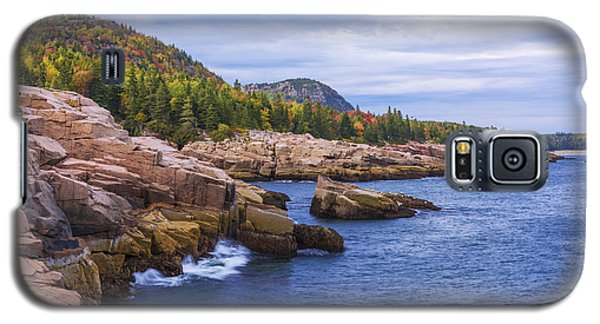 Galaxy S5 Case featuring the photograph Acadia's Coast by Chad Dutson