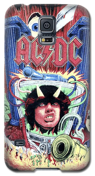 Galaxy S5 Case featuring the digital art Acdc by Gina Dsgn