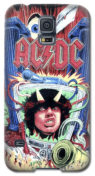 Acdc Galaxy S5 Case by Gina Dsgn