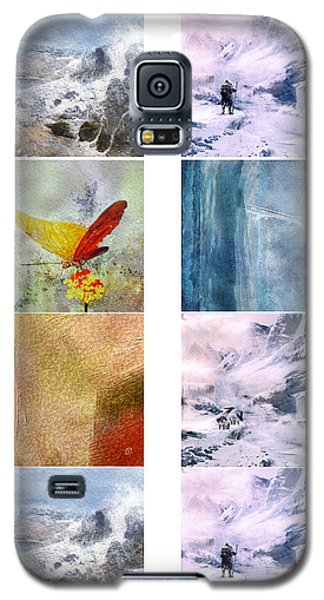 Aceo Artwork For Print Galaxy S5 Case