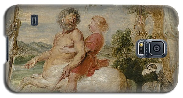 Achilles Educated By The Centaur Chiron Galaxy S5 Case by Peter Paul Rubens