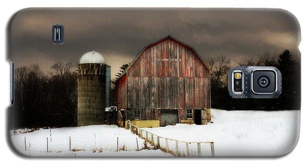 Galaxy S5 Case featuring the photograph Acorn Acres by Julie Hamilton