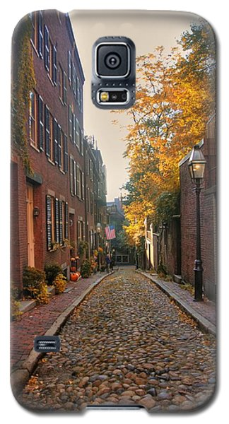 Acorn St. 3 Galaxy S5 Case by Joann Vitali