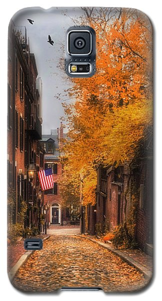 Acorn St. Galaxy S5 Case by Joann Vitali