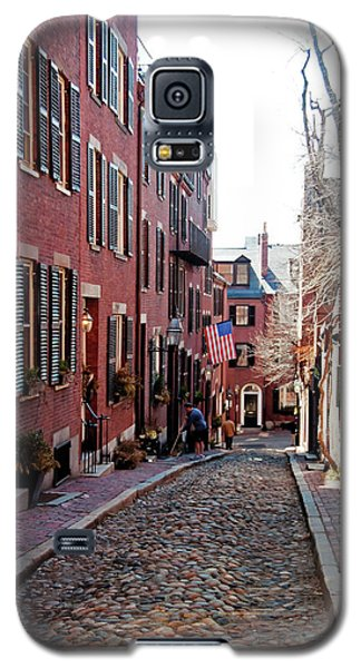 Acorn Street Beacon Hill Galaxy S5 Case