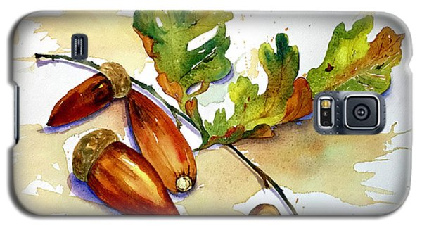 Acorns And Leaves Galaxy S5 Case