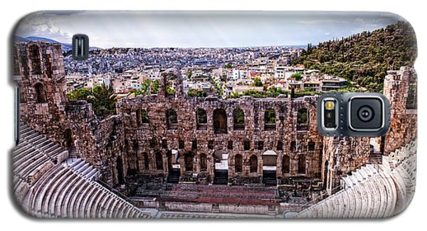 Galaxy S5 Case featuring the photograph Acropolis by Linda Constant