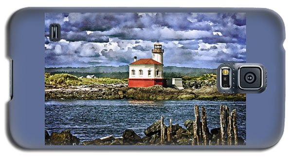 Across From The Coquille River Lighthouse Galaxy S5 Case