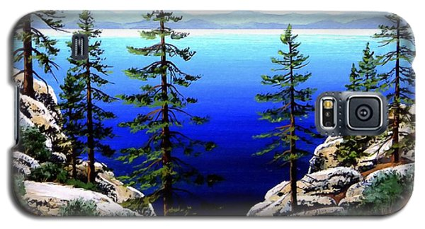 Across Lake Tahoe Galaxy S5 Case