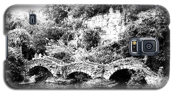 Galaxy S5 Case featuring the photograph Across The Bridge by Ken Frischkorn