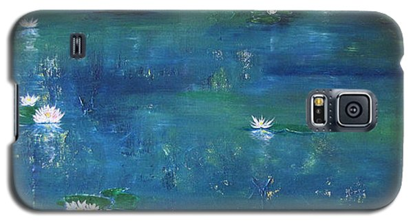 Across The Lily Pond Galaxy S5 Case by Gary Smith