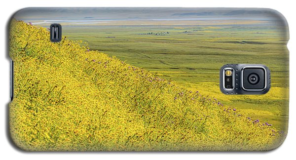 Galaxy S5 Case featuring the photograph Across The Plain by Marc Crumpler