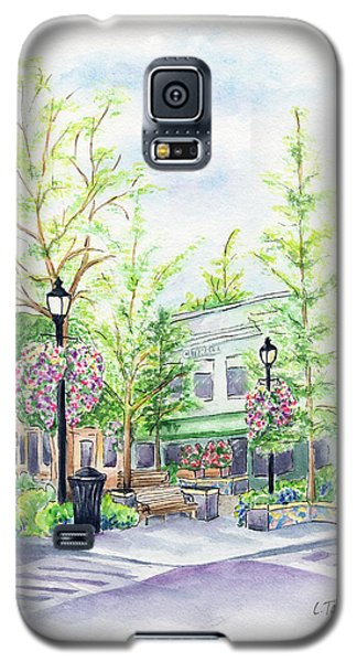Across The Plaza Galaxy S5 Case