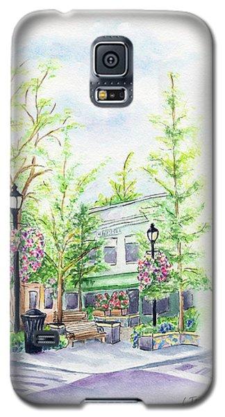 Across The Plaza Galaxy S5 Case
