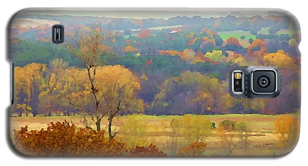 Across The River In Autumn Galaxy S5 Case