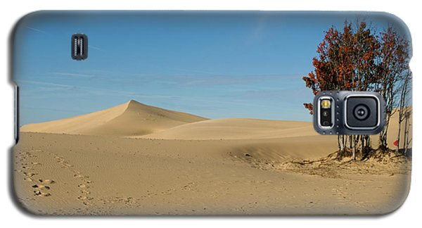 Galaxy S5 Case featuring the photograph Across The Sand 2 by Tara Lynn