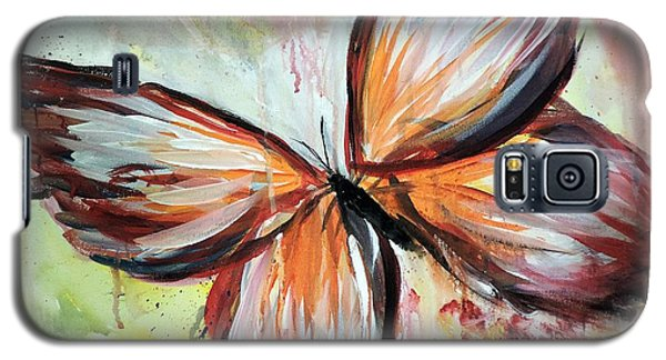Acrylic Butterfly Galaxy S5 Case by Tom Riggs