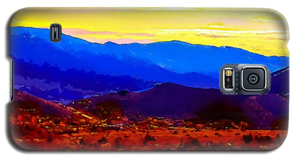 Acton California Sunset Galaxy S5 Case