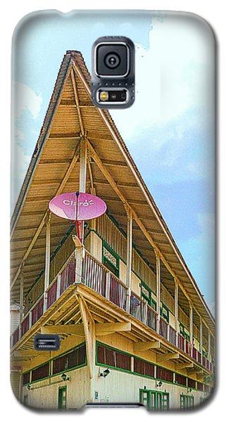 Acute Corner House Galaxy S5 Case