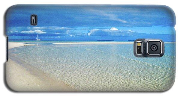 Adagio Alone In Ouvea, South Pacific Galaxy S5 Case
