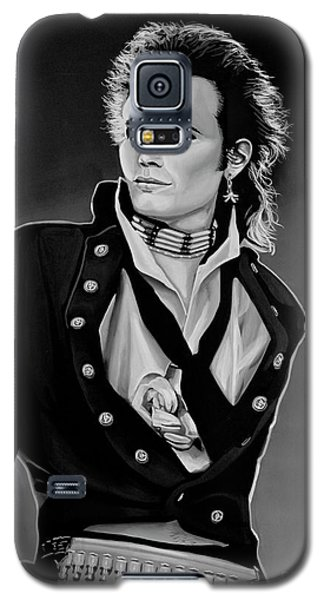Ant Galaxy S5 Case - Adam Ant Painting by Paul Meijering