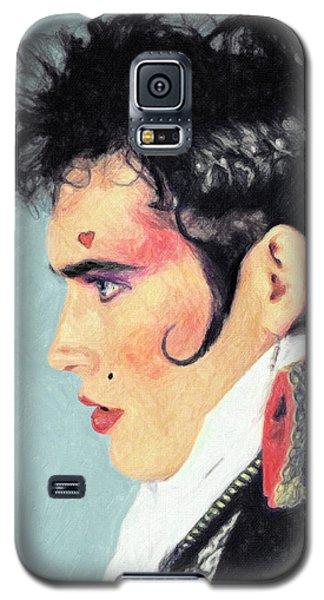 Robert Smith Music Galaxy S5 Case - Adam Ant by Zapista