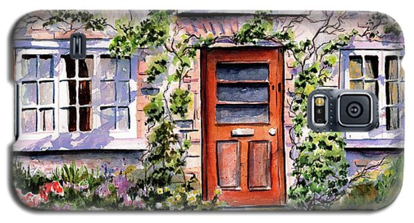 Galaxy S5 Case featuring the painting Adare Ireland Cottage by Marti Green