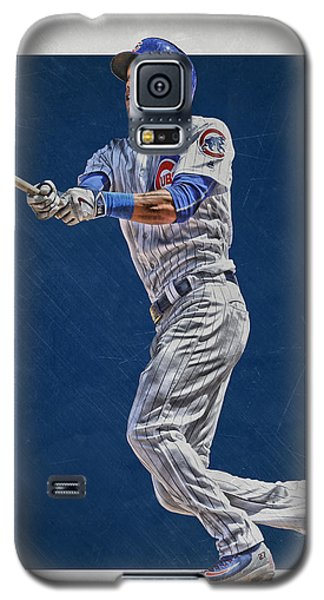 Addison Russell Chicago Cubs Art Galaxy S5 Case by Joe Hamilton