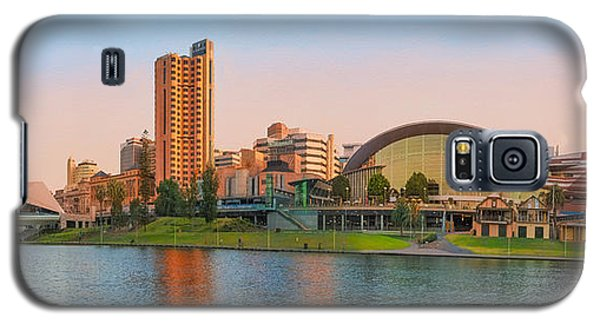 Adelaide Riverbank Panorama Galaxy S5 Case