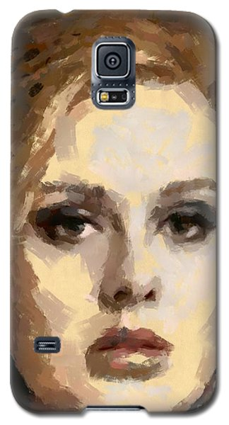 Adele Galaxy S5 Case by Dragica Micki Fortuna