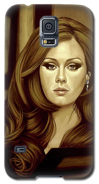 Rhythm And Blues Galaxy S5 Case - Adele Gold by Paul Meijering