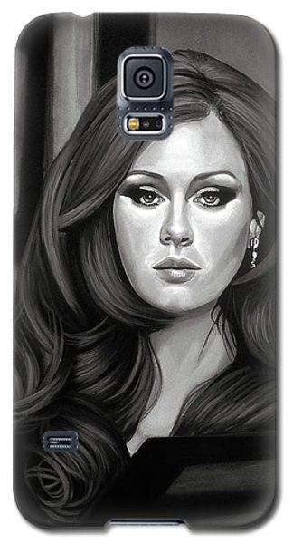 Rhythm And Blues Galaxy S5 Case - Adele Mixed Media by Paul Meijering