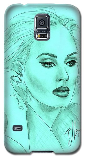 Adele Galaxy S5 Case by P J Lewis