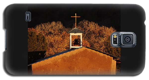 Adobe Church At San Ildefonso Pueblo In Northern New Mexico Galaxy S5 Case
